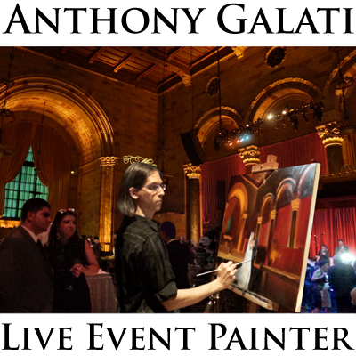 Anthony Galati Live Event Painter